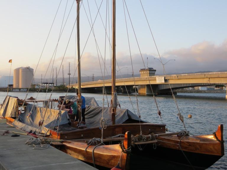 hawaiiloa, voyaging canoe