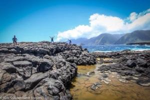 A Dramatic Response to World Famouse Molokai Sea Cliffs