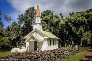Siloama Church at Kalawao