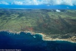Aerial View of Molokai's Moomomi Preserve