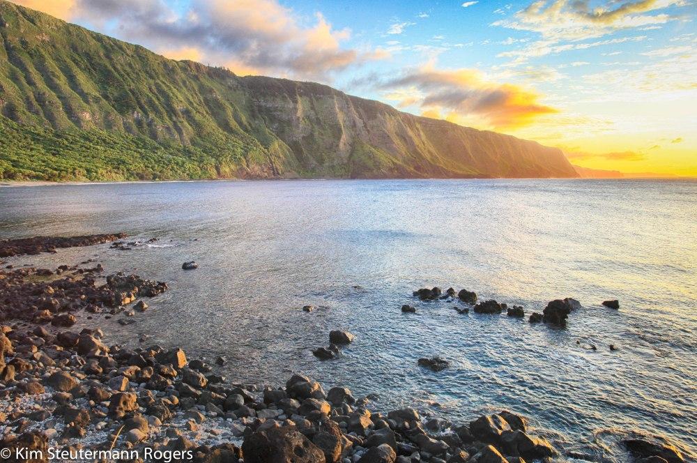 kalaupapa, molokai, sea cliff