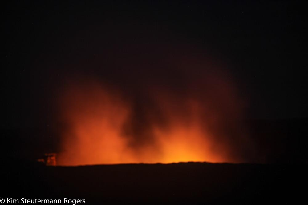 halemaumau crater kilauea volcano