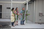 Danny Akaka, Jr. and family bless Ke Kai Ola