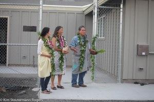 Danny Akaka, Jr. and family bless Ke Kai Ola