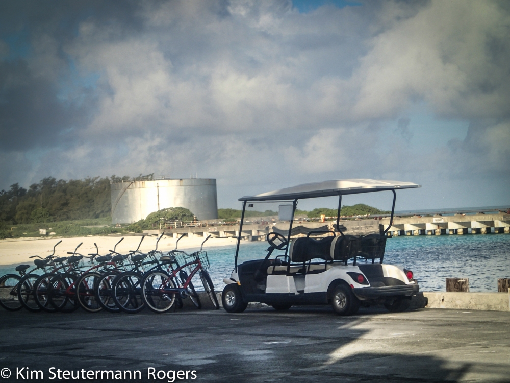 Bikes at Midway Atoll National Wildlife Refuge