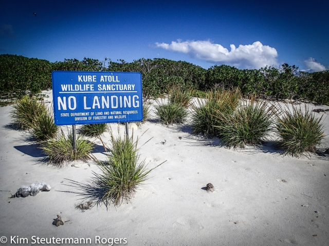 Kure Atoll Sign