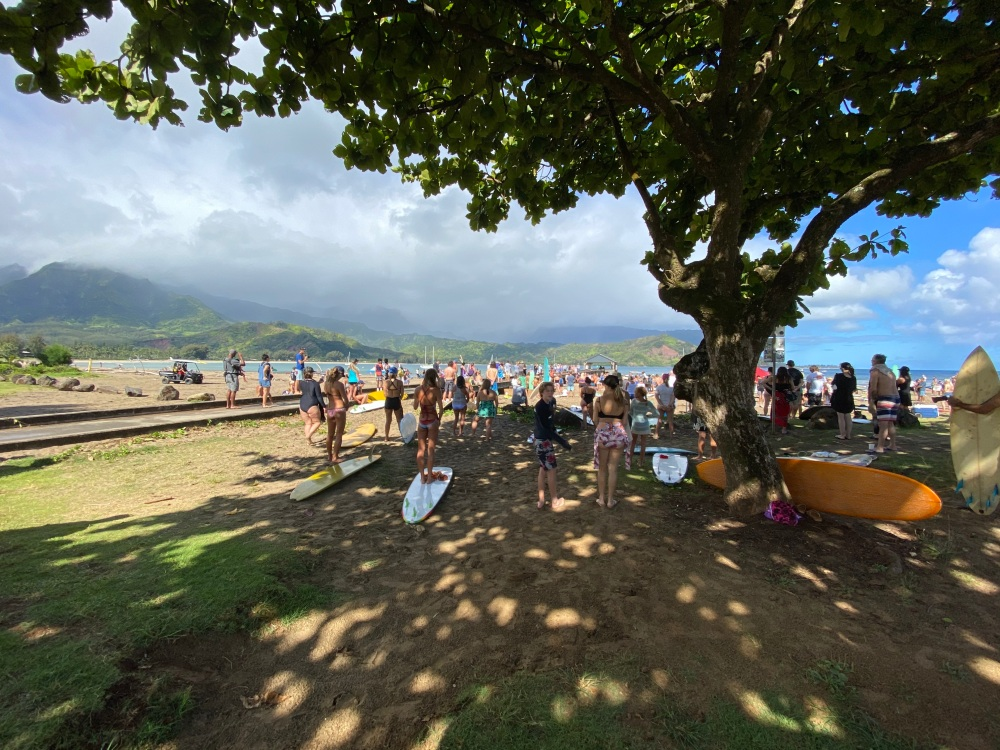 Hanalei Paddle Out Pule